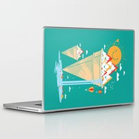 island Laptop & iPad Skins featuring mystery island by Steven Toang