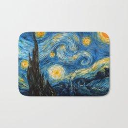 A Starry Night at Hogwarts Bath Mat