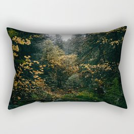 Golden Oregon Forest Rectangular Pillow