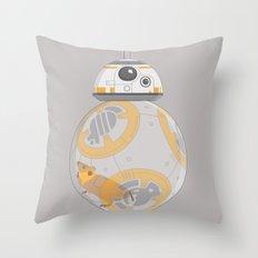 Hamster BBall Throw Pillow