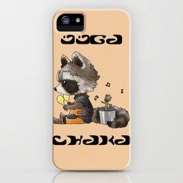 OOGA CHAKA iPhone Case