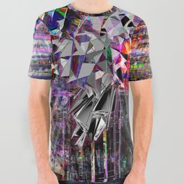 synthFest t-shirt All Over Graphic Tee