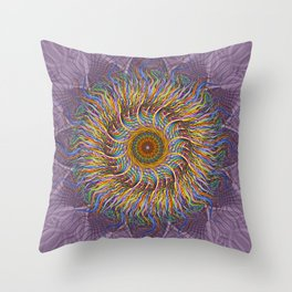 A Simple Twist Throw Pillow