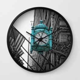 Chicago Clock Wall Clock