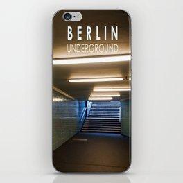 Tube Station - Fehrbelliner Platz - BERLIN UNDERGROUND iPhone Skin