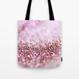 Pink Sparkle shiny glitter effect print - Sparkle Valentine Backdrop Tote Bag