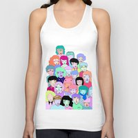 it crowd Tank Tops featuring Crowd #2  by Milly Scarlett