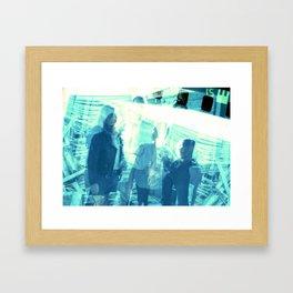 INAGADDADAVIDA Framed Art Print