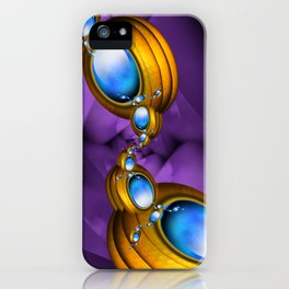 Jewelry for Alien Insects iPhone Case
