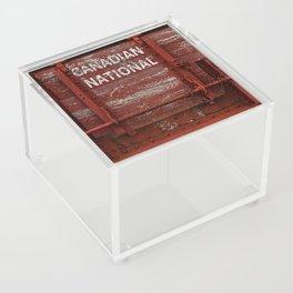Red Wagon Acrylic Box
