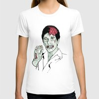 scarface T-shirts featuring Zombie Al Pacino Scarface  by Jane Hazlewood