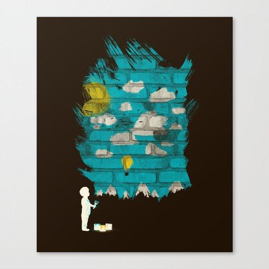 Creating a Dream Canvas Print