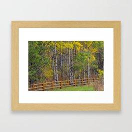 Ashton Idaho - Autumn Time Framed Art Print
