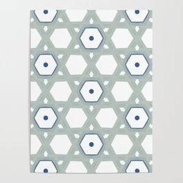 GEO-PATTERN A1 Poster