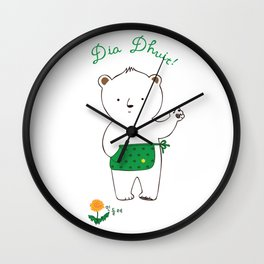Hello, I am Brown Bear. Wall Clock