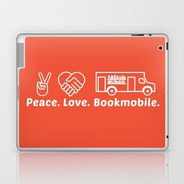 Peace. Love. Bookmobile Laptop & iPad Skin