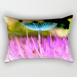 Fungal Invasions Rectangular Pillow
