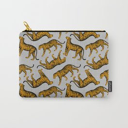 Tigers (Gray and Marigold) Carry-All Pouch
