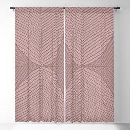 Soft Tropical Watercolor Leaf Blackout Curtain