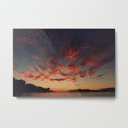 Sundown Mallorca Metal Print