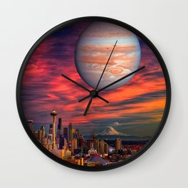 Spacenoodle Wall Clock