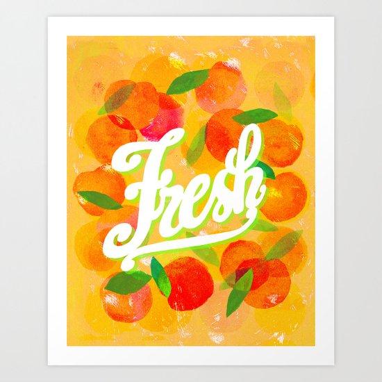 freshly hot Art Print