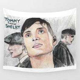 Tommy Fuckin' Shelby Wall Tapestry