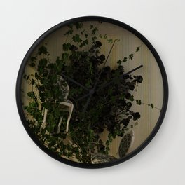 """""""Rumble in the Jungle"""" Wall Clock"""