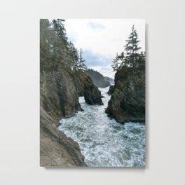 Rushing River Metal Print