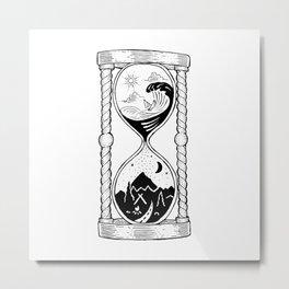 Hourglass Metal Print