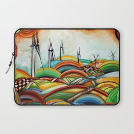 Il Camino de Santiago - Windmills Laptop Sleeve