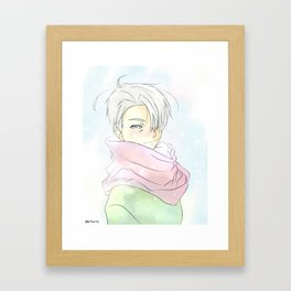 Yuri On Ice - Pastel Viktor Framed Art Print