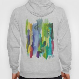 180812 Abstract Watercolour Expressionism 11  Colorful Abstract   Modern Watercolor Art Hoody