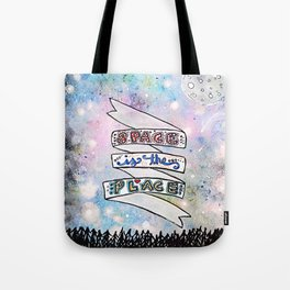Space Is The Place Tote Bag
