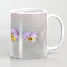 Pastel Vintage Pansies Mug