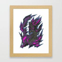 Jagger Plex Framed Art Print