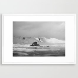Australia Surf Framed Art Print