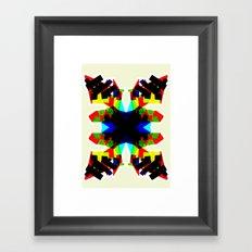 BSTRCT02 Framed Art Print