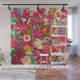 Atomic Garden Wall Mural