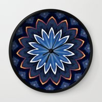 buddha Wall Clocks featuring Buddha by Julie Maxwell