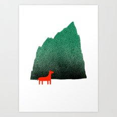 Man & Nature - Island #1 Art Print