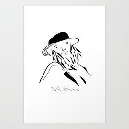 Whitman Art Print