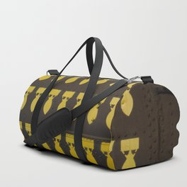 Bomb design on airplane Duffle Bag