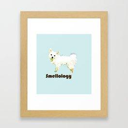 Smellology {wet dog} Framed Art Print