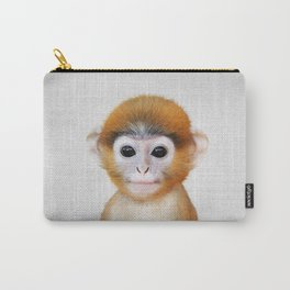 Baby Monkey - Colorful Carry-All Pouch