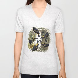 Yellow-Rumped Caciques Unisex V-Neck