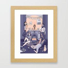 Youth epitome Framed Art Print