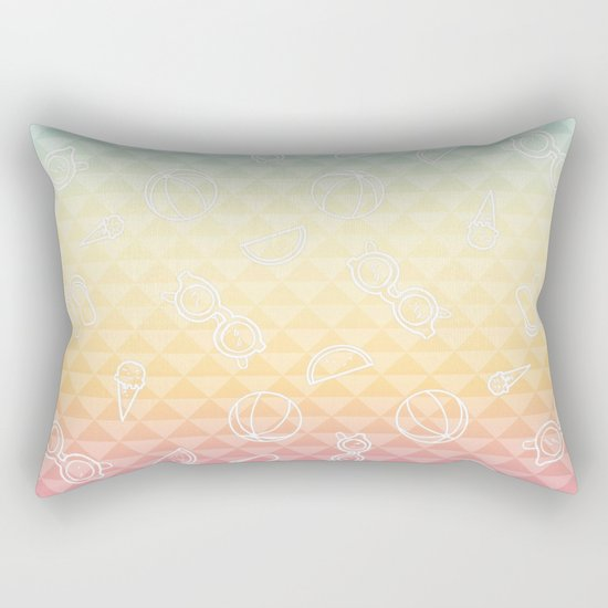 Summer is a state of mind Rectangular Pillow