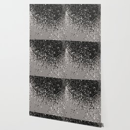 Silver Gray Glitter #1 #shiny #decor #art #society6 Wallpaper
