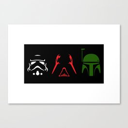 Star Wars Silhouettes Canvas Print